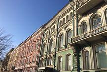 Architecture de Saint-Pétersbourg (Russie)