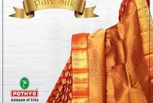 Pure Silk Sarees / Buy silk sarees from Pothys and you will never have to go anywhere else.