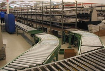 Used Gravity Conveyor / Used gravity conveyors are the most common type of warehouse conveyor.  This style of conveyor allows for the transportation of product without additional power.  Used gravity conveyor is also extremely easy to install and cost effective.