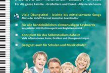 Keyboardlernen in der Familie / Das gesamte Keyboard-Lehrheftprogramm für das gemeinsame Musizieren in der Familie: Eltern mit Kinden - Großeltern mit Enkeln - Alleinerziehende