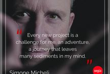 Designers Quotes | Segis / Meet the people behind the designs. We're proud to have worked with the most important personalities in design and technology industry, together we keep on producing objects that are both functional and aesthetically versatile, making the world a most comfortable place. New inspirational quotes.