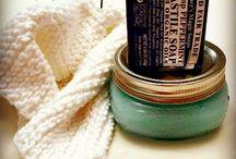 Homemade soap, lotion...