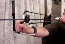 Slingshots and slingbows