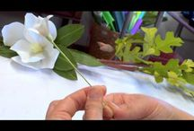 how to make wax flower crowns