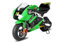 """Pocket Bike PS50 Rocket Sport / Habár eredetileg Gyermekeknek tervezték, de akár adrenalinfüggő felnőttek is használhatják ezt az """"aszfaltszaggató mini-szörnyet"""". A """"Zsebmotorok"""" új generációja. A nálunk megrendelt modelleket ingyenesen összeszereljük, és házhoz-szállítjuk Neked. Nézd meg a részleteket itt: http://www.importdiszkont.com/pocket_bike_81"""