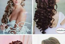 Haare für die Hochzeit