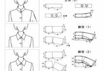 Pattern the collar