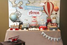 Travel Theme Party Inspiration
