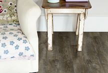 Decorate with Soft, Spring Tones / Spring has sprung, meaning it's time to decorate using soft, feminine colors in your home decor. Our Luxury Vinyl floors are great for this time of year because they are easy to clean, and more comfortable underfoot than most hard surfaces.