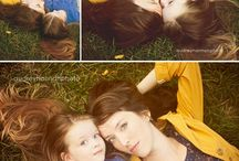 Mother daughter photo idea