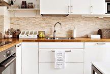 Кухни белые