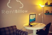 Office / RentBillow Little Headquarters. Where it all started...my little business.
