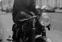 Biker portret