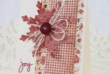 Julekort og til-og-fra-lapper / Christmas cards and gift tags