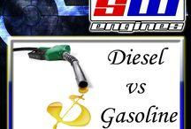 Diesel vs Gasoline / Southwest Engines is the largest used engines database in the U.S. offering the lowest prices and highest quality. Popular used engines and transmissions we carry include Honda Civic and Accord Vtech Engines, Ford Ranger, Ford F150, Ford Explorer, Toyota Camry, Tacoma engines and much more. Visit us on http://www.swengines.com/  / by SWEngines