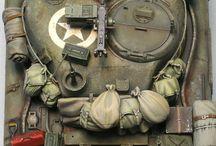 Paquetage tank
