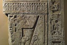 ancient egyptian stalae