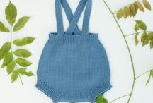 Knitted Rompers / Handknitted rompers for babies and toddlers