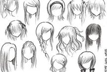 Drawings Hair
