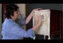 Malovanie Annie Sloan / natery podla Sloan