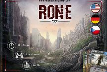 RONE - Races of New Era / Pictures dedicated to card game RONE - Races of New Era, currently available on kickstarter.