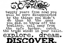 To travel is to discover / by Calli Wallace