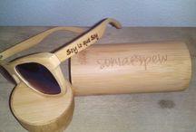 Gafas #soniapew de bambú Mod. Bamboo Élite personalizada