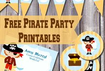 Pirate party ⚓️ / 3yo's pirate themed birthday party / by Nicole