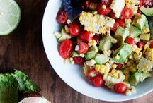 scrumptious salads / Salads, salads and more salads! A group pinterest board featuring some of the best salads on the web! / by Kristen @DineandDish