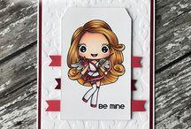 Carley Cupid ~ digital stamp