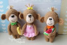 Amigurumi - crochet soft toy's / Free patterns for crochet soft toy's.
