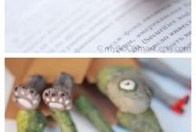 bookmark polimer clay