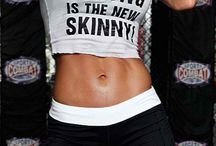 strong is the new skinny / by Kristin Bruce