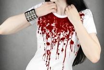 mood board - blood and tears