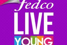 #LIVEYOUNG / Ser Live Young es vivir al máximo cada momento de la vida, experimentar nuevas emociones, sonreír y disfrutar cada segundo. Dándote un estilo único que te hará sentir libre.  http://www.fedco.com.co/liveyoung.aspx