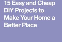 D I Y house projects