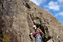 Rock Climbing and Abseiling. / Rock Climbing, seeing the great outdoors from a different perspective with Kendal Mountaineering Services