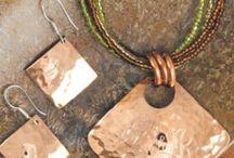textured metal jewellery