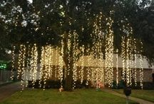 Wedding Ideas: lighting / Wedding ideas and inspiration for lighting indoors and outdoors at your reception and ceremony venue.