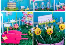 Pink Garden Birthday Party Theme