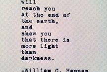 Words... / Words that speak to my soul