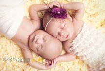 Fotografia - Newborn Gêmeos
