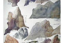 Рисование камней