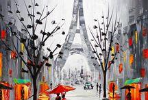 párizs rajzok