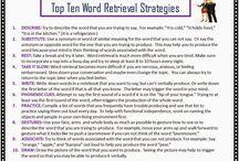 word retrieval
