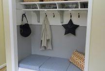 {laundry room + mud room}
