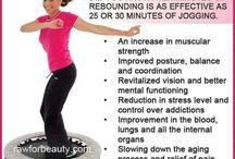 Rebounding is FABULOUS!
