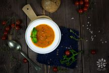 Food photography - Soups