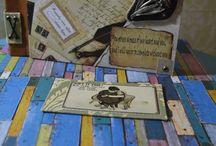 PushDesign Paper art / Push Design Handmade bookmarks, journals, notebooks, photo albums