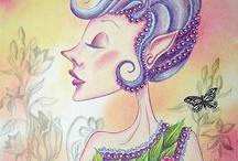 Illustrations ~ Elegant Snobbery ⋇⋇